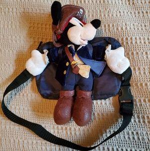 Vintage Disney Pirate Mickey Mouse Kids Fanny Pack